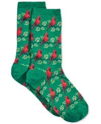 Hot Sox Women's Cardinals Socks Pine
