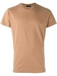 Jil Sander Basic T Shirt Nude And Neutrals