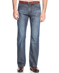 Alfani Black Boot Cut Kellen Jeans Grey Blue
