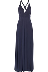 Tart Collections Infinity Convertible Stretch Modal Maxi Dress Blue