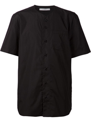 Givenchy Boxy Baseball Shirt Black