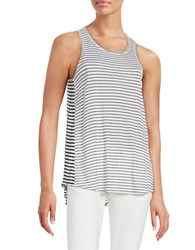 Calvin Klein Jeans Striped Tunic Tank White