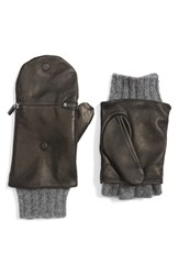 Echo Women's Touch Glitten Knit And Leather Gloves