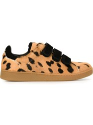 Jerome Dreyfuss Jerome Dreyfuss Velcro Strap Sneakers Nude And Neutrals