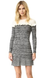 Philosophy Di Lorenzo Serafini Knit Dress Black White