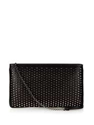 Christian Louboutin Loubiposh Spikes Leather Pouch