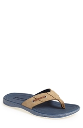 Sperry 'Baitfish' Sandal Men Grey Navy