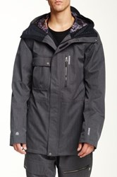 Quiksilver First Class 15 Snow Jacket Black