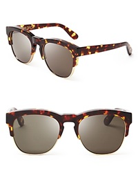 Wildfox Couture Wildfox Club Fox Sunglasses Tokyo Tortoise Green