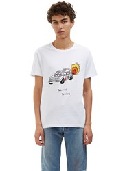 Veni Vedi Vici France Tuning Crew Neck T Shirt White