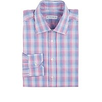 Etro Men's Plaid Dress Shirt Pink
