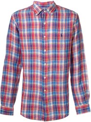 Polo Ralph Lauren Plaid Shirt Pink And Purple