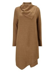 Phase Eight Bellona Waterfall Coat Neutral