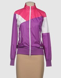 Shoeshine Coats And Jackets Jackets Women Purple