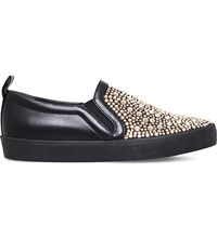 Gina Gioia Embellished Trainers Blk Other