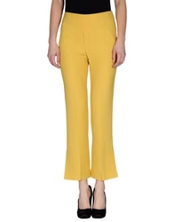 Osklen Casual Pants Yellow