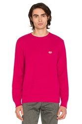 Obey New Times Drifter Sweater Pink