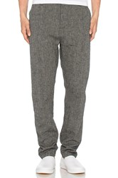 Wings Horns Linen Utility Pant Gray