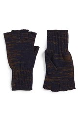Men's Upstate Stock Wool And Acrylic Knit Fingerless Gloves