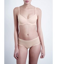 Wolford Sheer Touch Underwired Soft Cup Bra Rosepowder