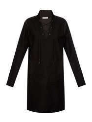 Tomas Maier Studded Long Sleeved Dress