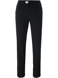 Salvatore Ferragamo Slim Fit Trousers Black