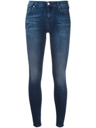 7 For All Mankind 'The Skinny' Jeans Blue