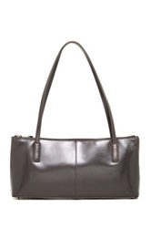 Hobo Niccola Leather Handbag Gray