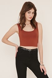 Forever 21 Cotton Blend Crop Top