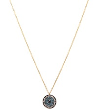 Annoushka Love Diamonds 18Ct Yellow Gold And Diamond Evil Eye Pendant Necklace