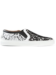 Givenchy Floral Lace Sneakers Multicolour