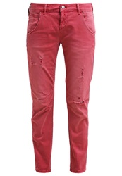 Only Onlsaint Relaxed Fit Jeans Raspberry Wine Red