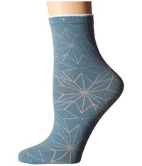 Falke Spring Star Sock Monument Women's Crew Cut Socks Shoes Gray