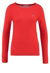 Lacoste Jumper Groseiller Orange