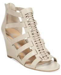 American Rag Amelia Woven Wedge Sandals Only At Macy's Women's Shoes Grey