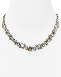 Sorrelli Crystal Necklace 16.25 Clear