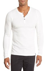 Men's Gramicci 'Jak Mojave' Thermal Henley Off White