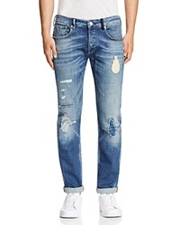 Scotch And Soda Ralston Straight Fit Jeans In Double Attack