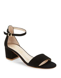 Free People Marigold Suede Sandals Black