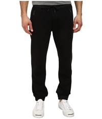 True Religion Nylon Fleece Sweatpant Black Black Men's Casual Pants