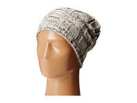 Michael Stars Cable Tie Slouch Hat White Caps