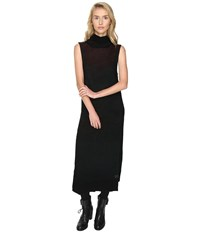 Yohji Yamamoto Hoodie Dress Black Women's Dress