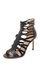 Tamara Mellon Secret Life Sandals Black