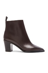 Acne Studios Loma Bootie In Brown