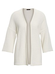 Marc O'polo Cardigan With 3 4 Sleeves White