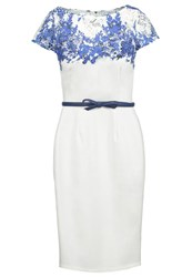 Paper Dolls Cocktail Dress Party Dress Blue White