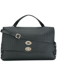 Zanellato Large 'Postina' Bag Black