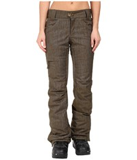 686 Authentic Patron Insulated Pants Olive Denim Women's Casual Pants