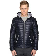 Duvetica Acelo Lightweight Quilted Down Jacket Blue Navy