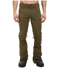 Burton Twc Greenlight Pant Keef 1 Men's Casual Pants Brown